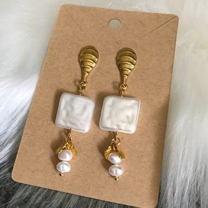 Beach Vibes Gold Plated Stainless Steel Earrings